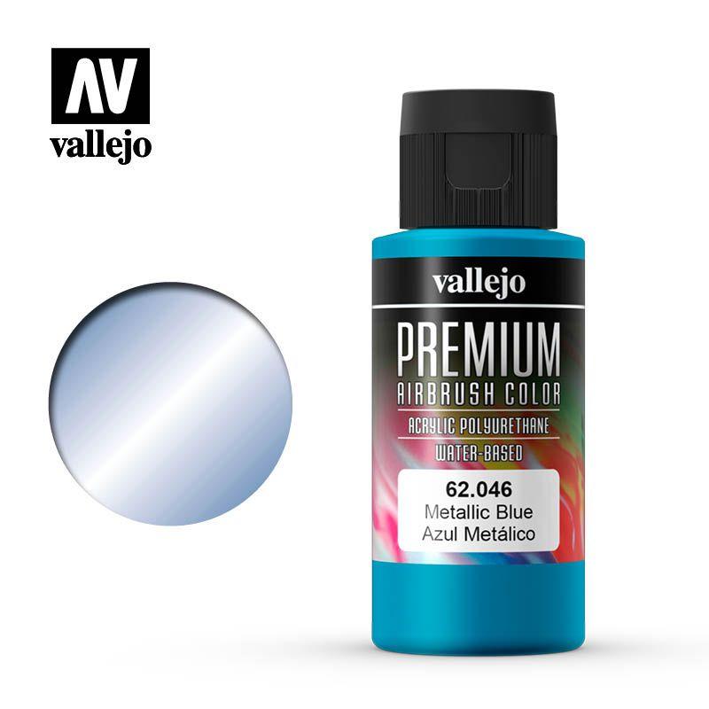 PREMIUM COLOR 046 METALLIC BLUE 60ML