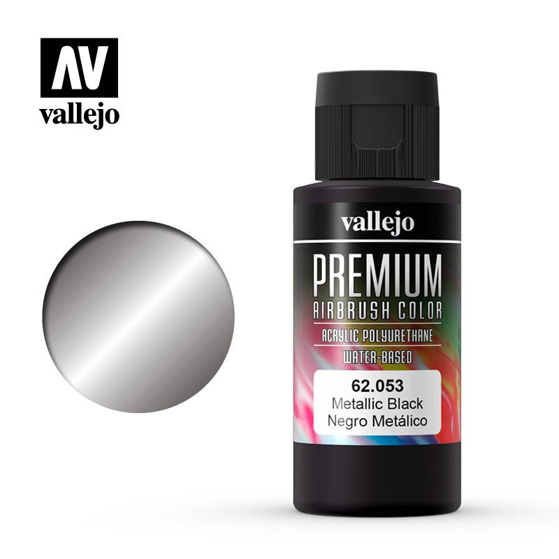 PREMIUM COLOR 053 METALLIC BLACK 60ML