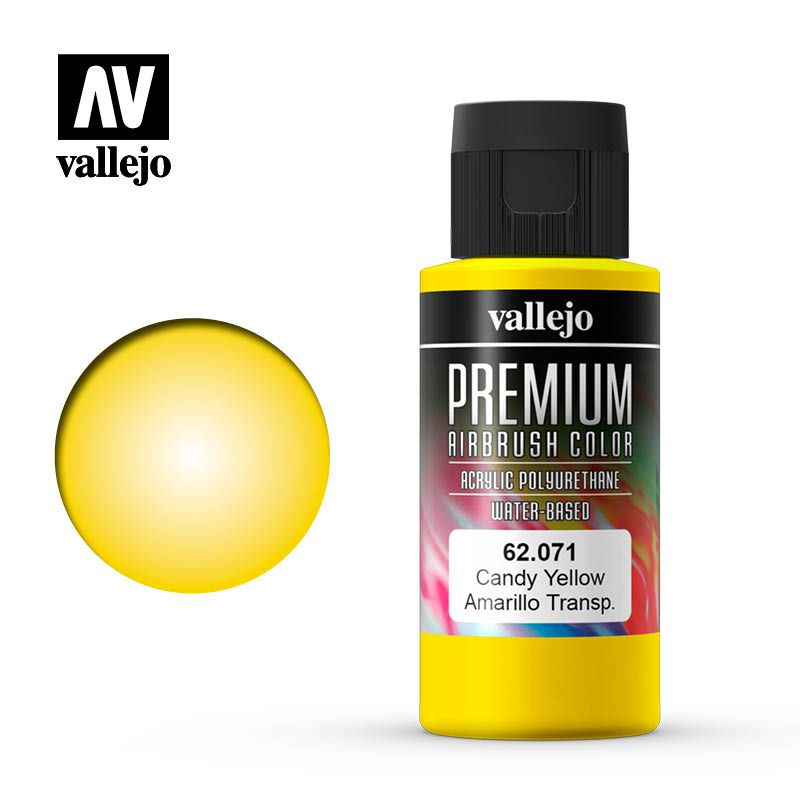 PREMIUM COLOR 071 CANDY YELLOW 60ML