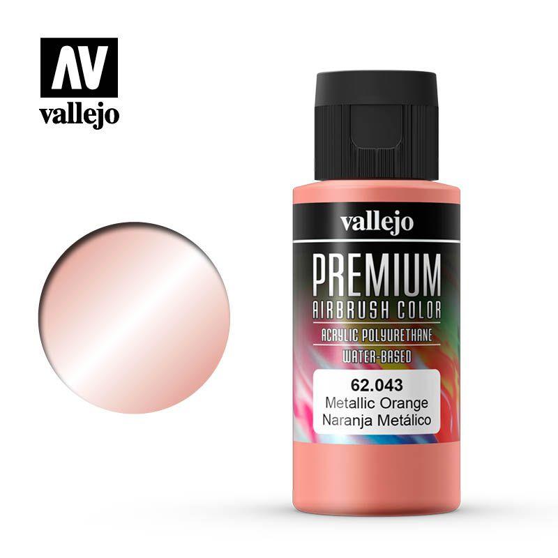 PREMIUM COLOR 60ML. 043-METALLIC ORANGE