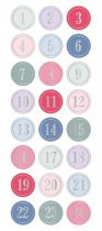 PUFFIES CALENDRIER DE L\'AVENT ONCE UPON THE TIME