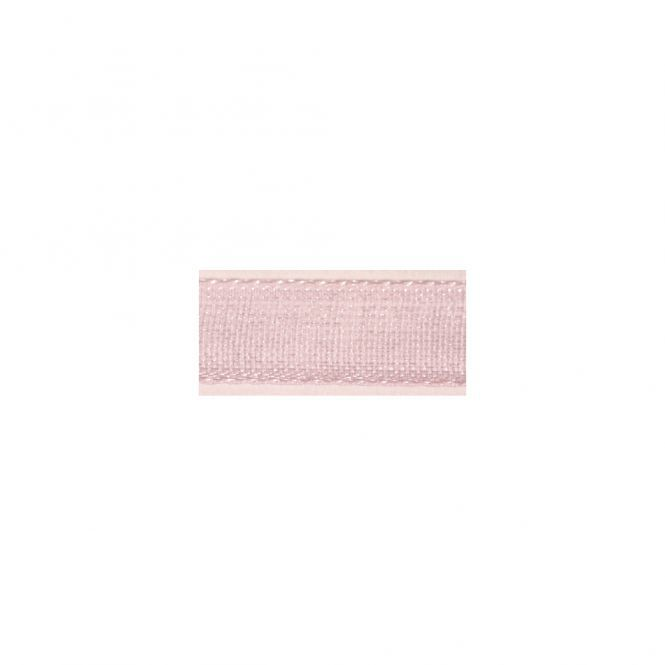 RUBAN 3MM ORGANDI X10M ROSE