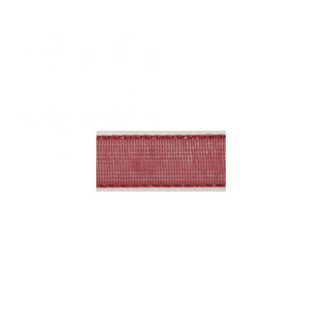 RUBAN 3MM ORGANDI X10M ROUGE VIF