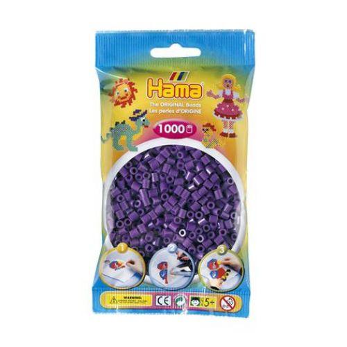 SACHET  1000 PERLES MAUVE
