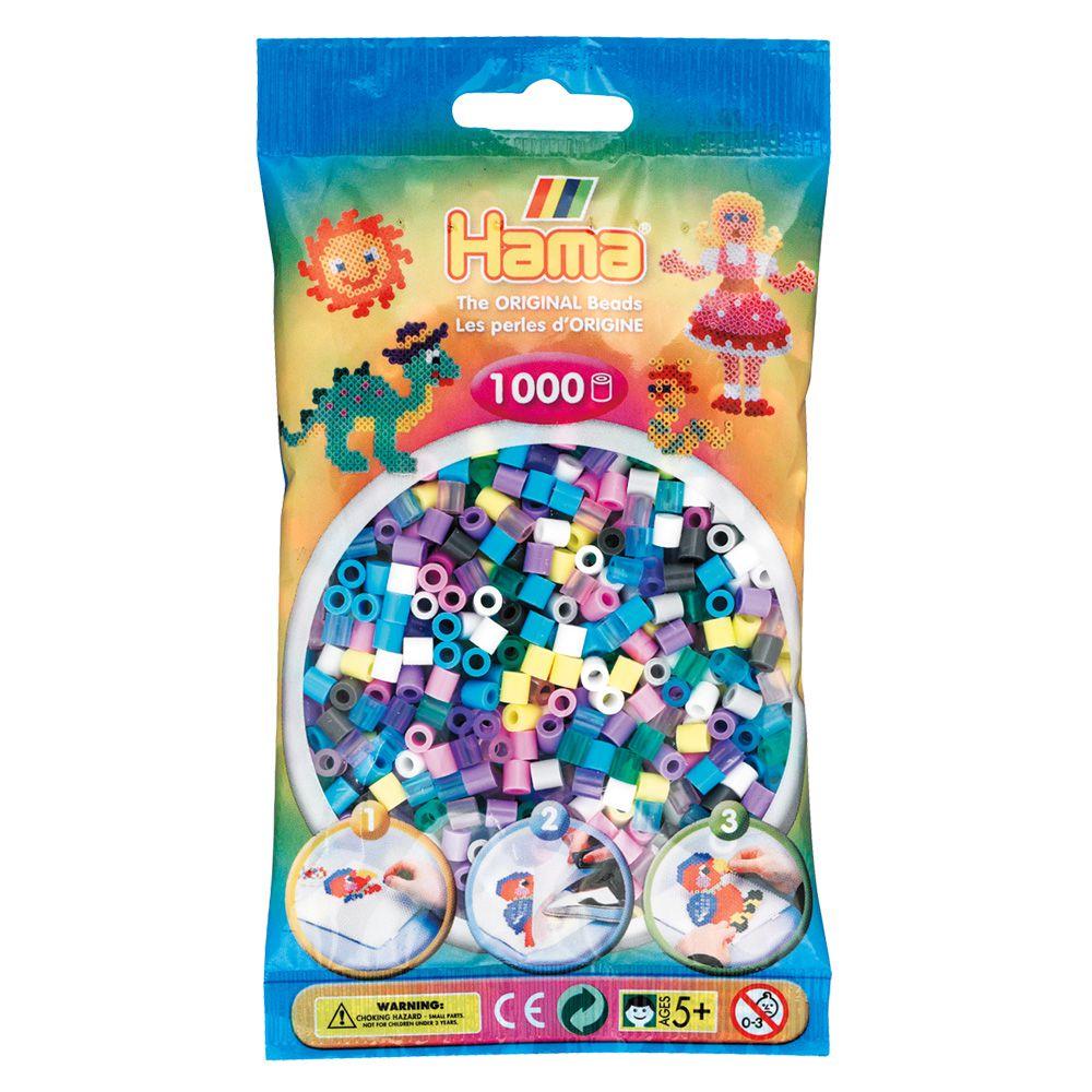 SACHET 1000 PERLES 11 COULEURS