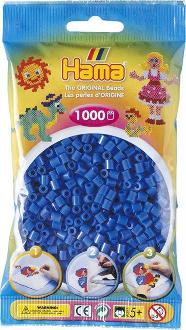 SACHET 1000 PERLES BLEU