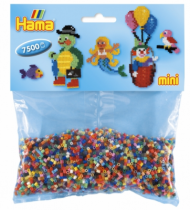 7500 Mini perles - 48 couleurs - Hama