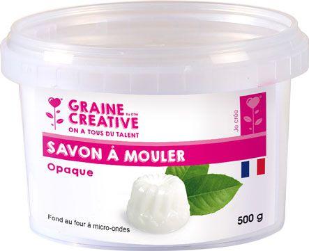 SAVON À MOULER OPAQUE 500GR