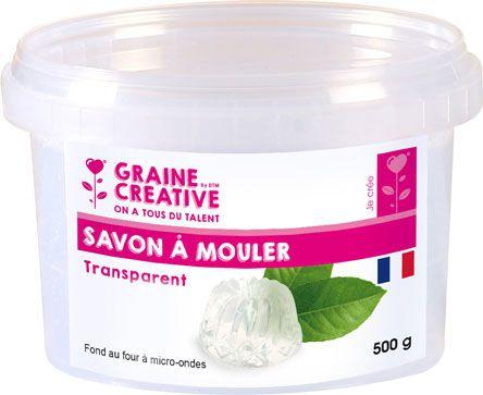 SAVON À MOULER TRANSPARENT 500GR