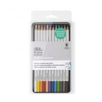 SET 12 CRAYONS AQUARELLABLES WINSOR & NEWTON