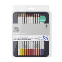 SET 24 CRAYONS AQUARELLABLES WINSOR & NEWTON