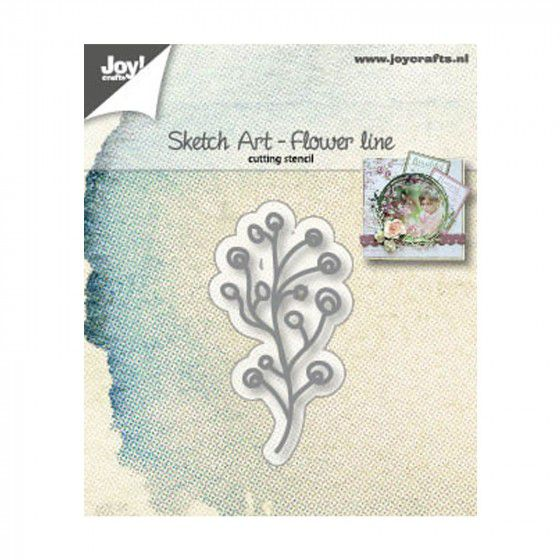 SKETCH ART FLOWER LINE mars19