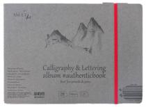SM-LT Carnet- Calligraphie & Lettering- 24,5x17,6cm -32 feuilles-100g