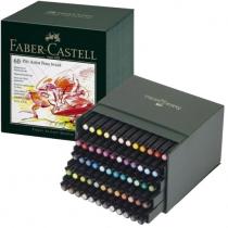STUDIO BOX 60 FEUTRES PITT FABER CASTELL