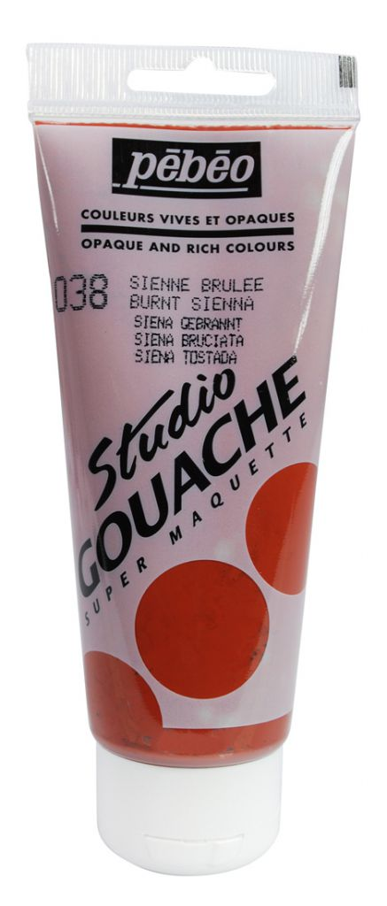 STUDIO GOUACHE 100ML SIENNE BRULEE