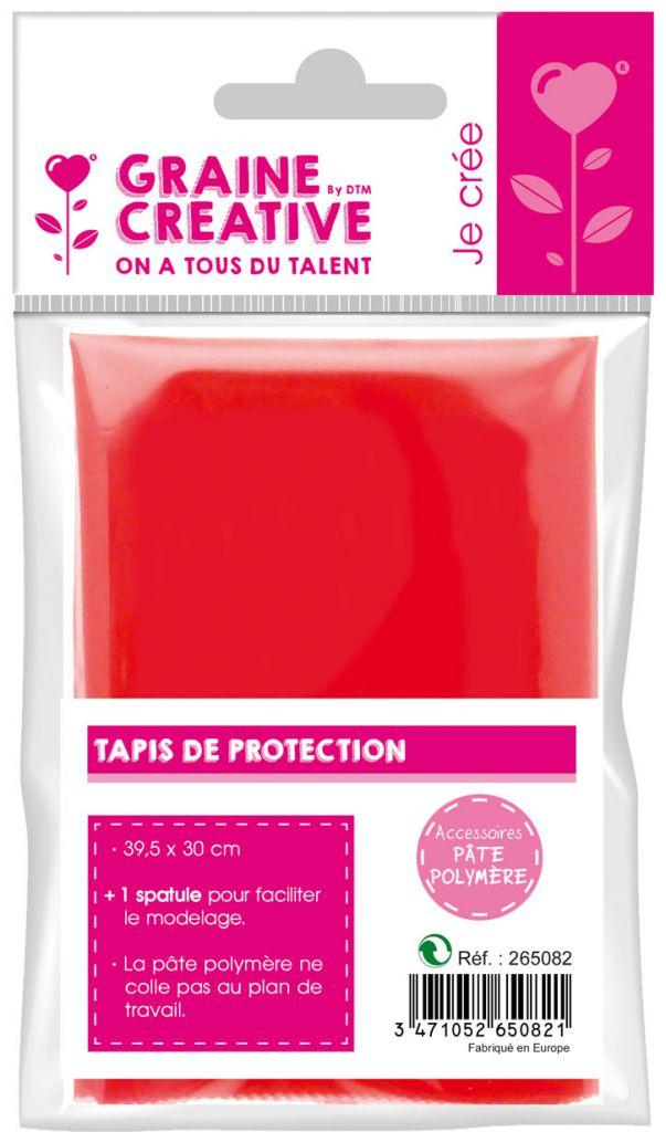 TAPIS SOUPLE DE PROTECTION + 1 SPATULE (Fimo)