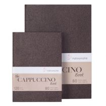 THE CAPUCCINO BOOK A4 80 pages 120g, Papier couleur Kraft chaud