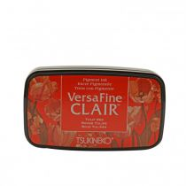 VERSAFINE CLAIR INKPAD TULIP RED