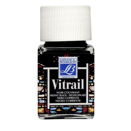 VITRAIL NOIR COUVRANT 50ml