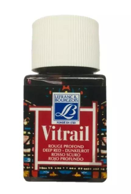 VITRAIL ROUGE PROFOND 50ml
