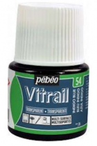 VITRAIL TRANSPARENT BLEU INDIGO 45ml