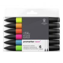 W&N PROMARKER NEON SET 6PC
