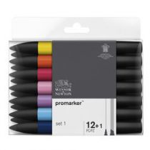 W&N PROMARKER SET 12+1PC SET 1