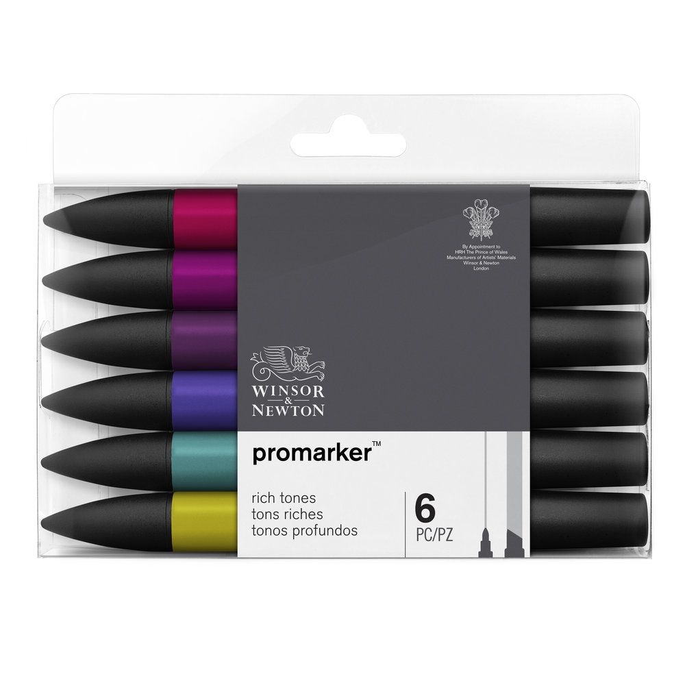 W&N PROMARKER SET 6PC TONS RICHES