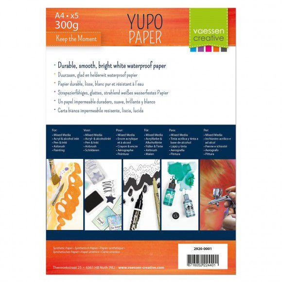 YUPO papier blanc A4 300GRS